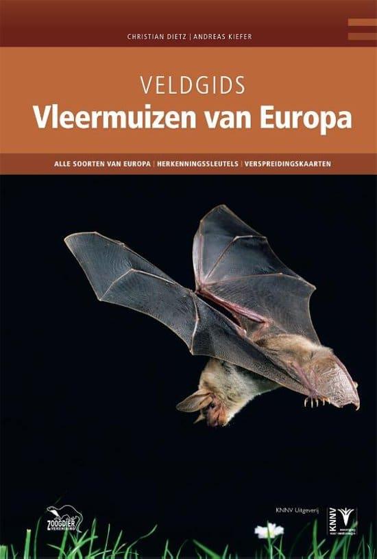 recensie veldgids vleermuizen van europa Christian Dietz en Andreas Kiefer