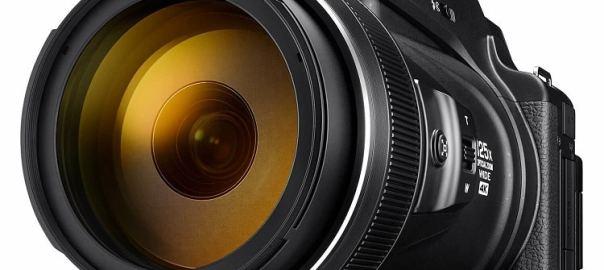 Nikon Coolpix P1000 compact camera Zwart visdief a