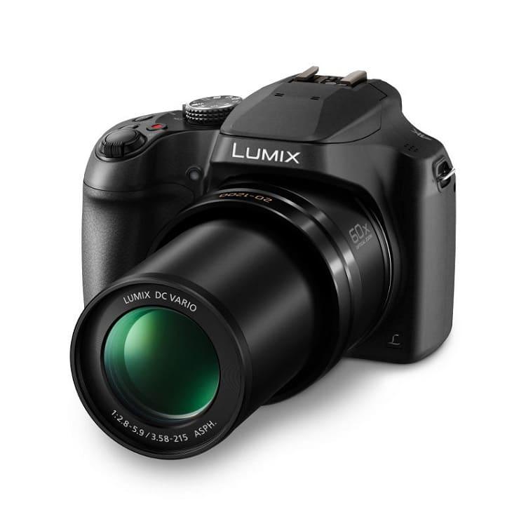 Panasonic Lumix DMC-FZ82 review kort visdief