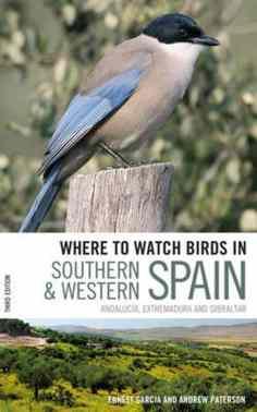 vogels kijken in het zuiden van spanje gids