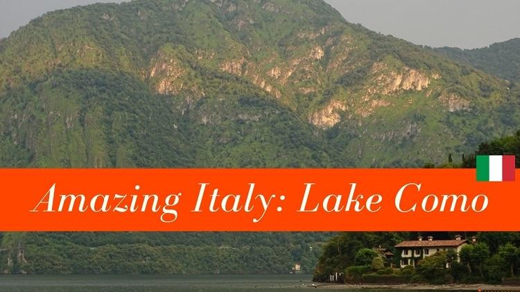 natuur in italie comomeer