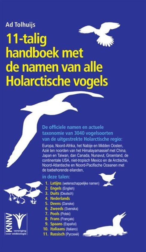 recensie 11-talig Handboek met de namen van alle Holarctische vogels ad tolhuijs