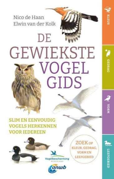 recensie de gewiekste vogelgids nico de haan elwin van der kolk