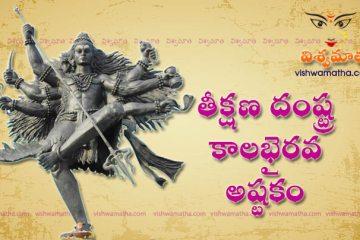teekshana damstra kala bhairava ashtakam
