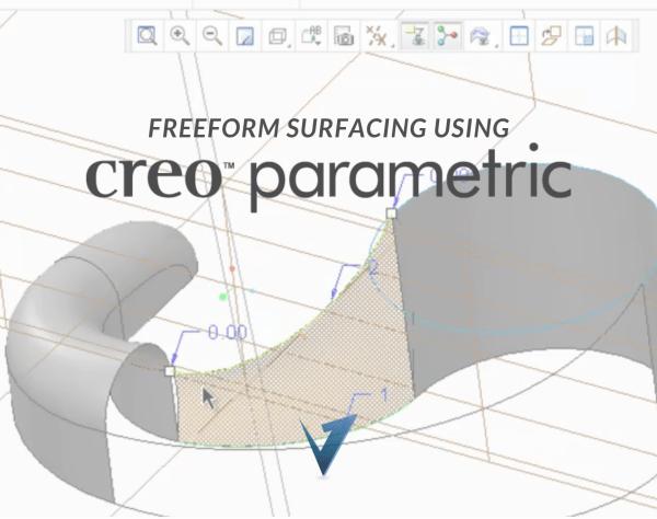 Freeform Surfacing using Creo Parametric Training Courses, Classes, and Programs