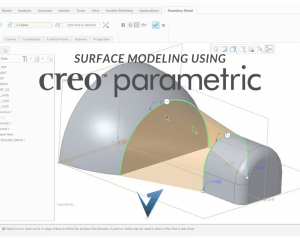 Surface Modeling using Creo Parametric Training Courses, Classes, and Programs