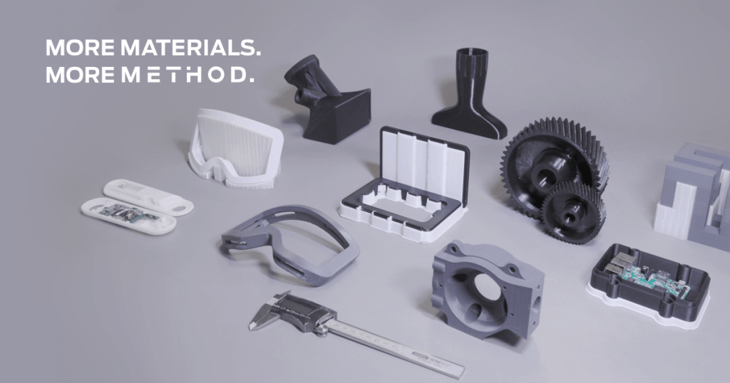 MakerBot 3D Printed Method Materials