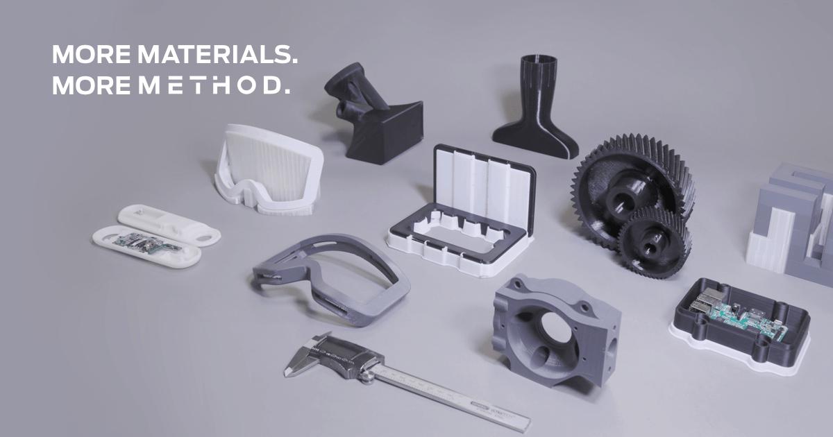 MakerBot 3D Printed Method Materials