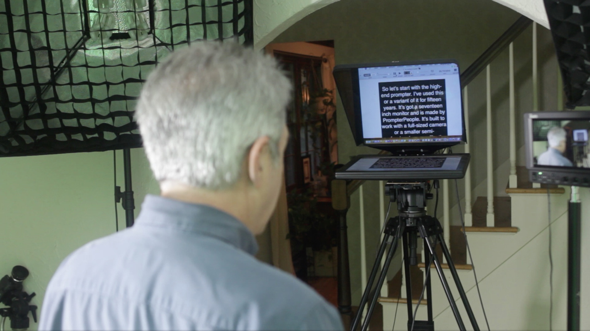 How to Read a Teleprompter Like a Pro