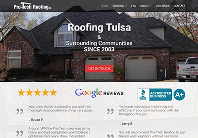 Tulsa Roofer Website