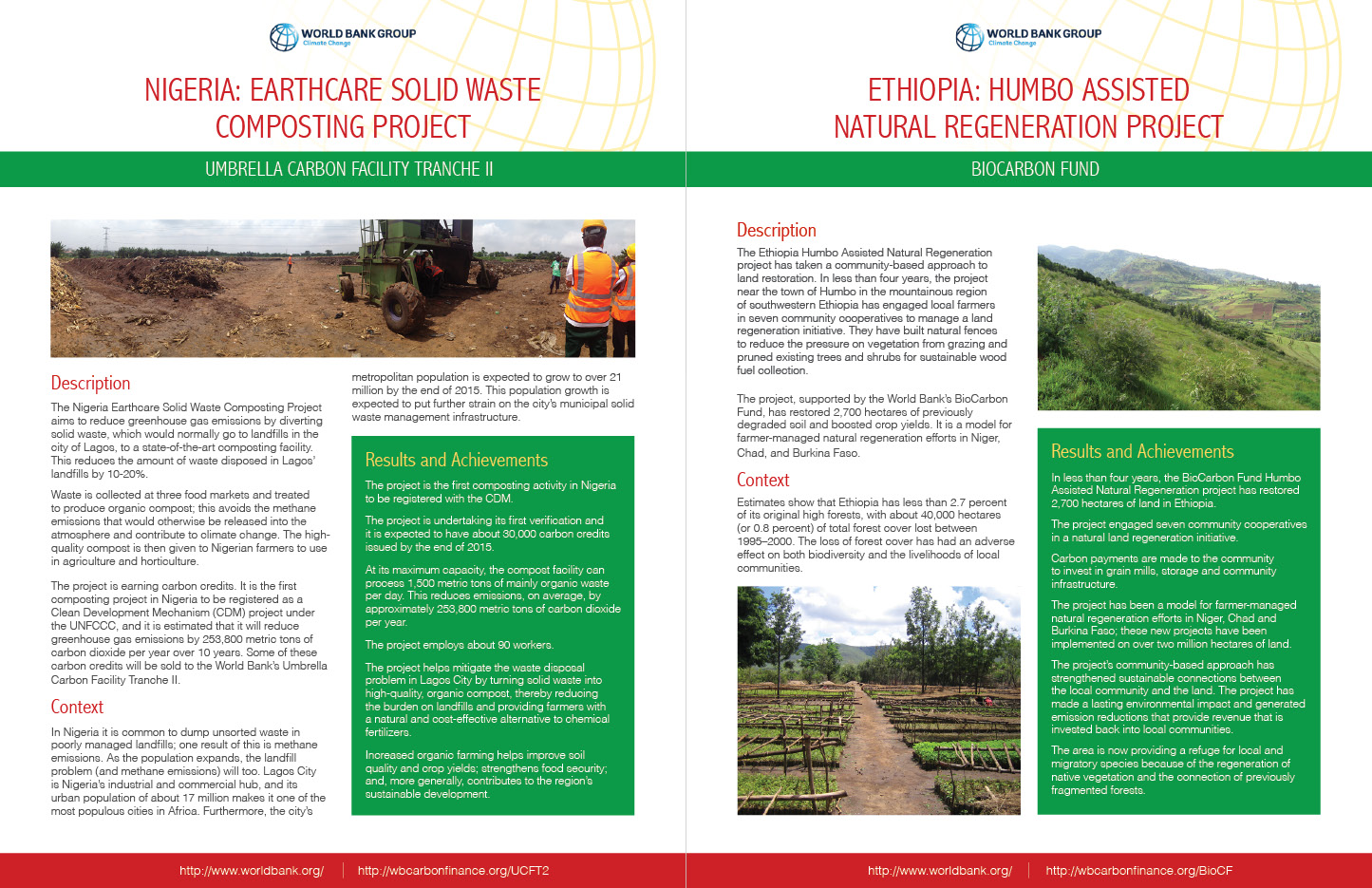 Africa Project Templates