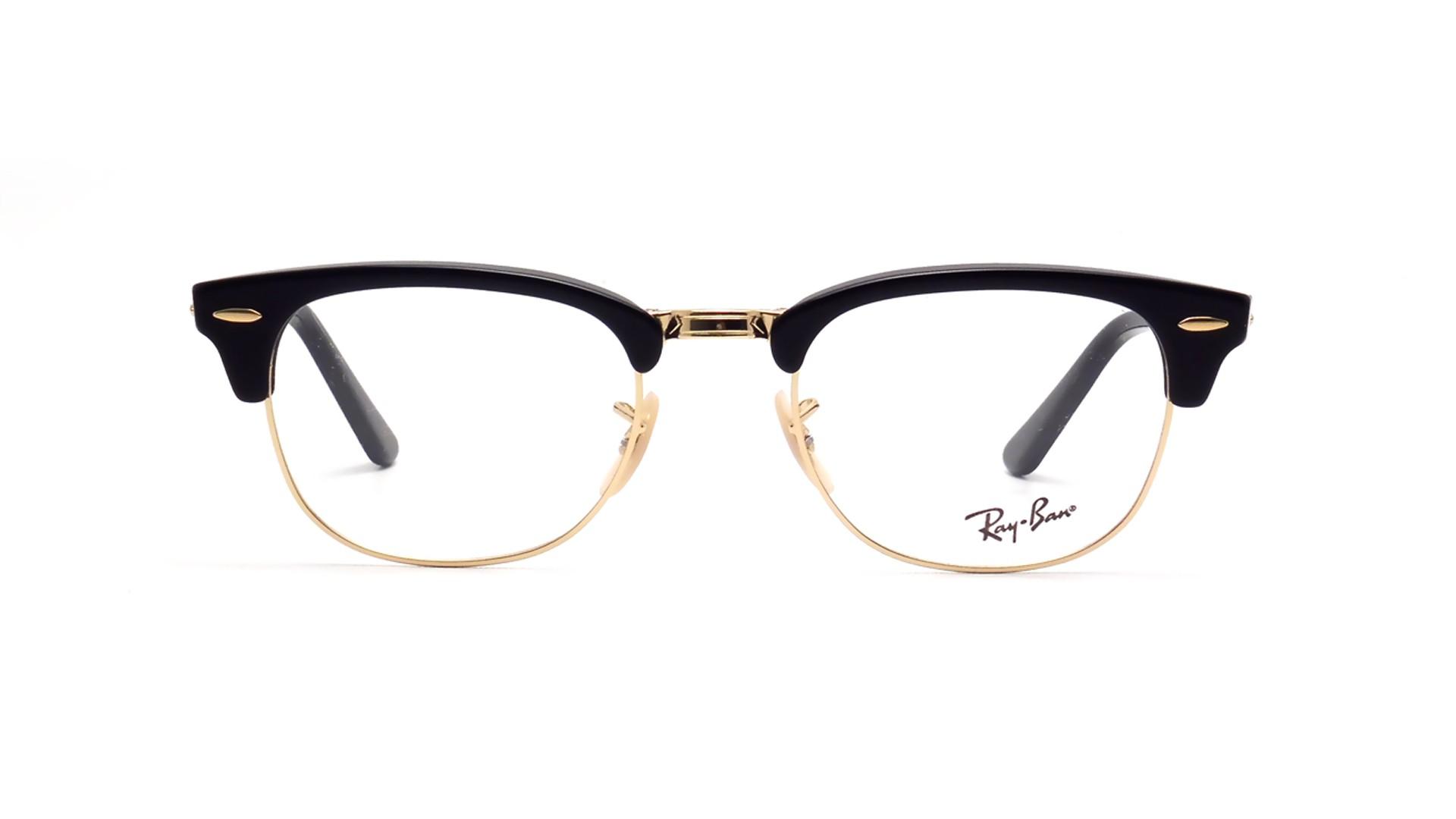 Ray Ban Clubmaster Glasses Black