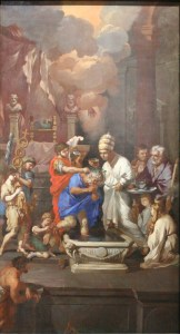 Baptême de Constantin, par Pierre Puget
