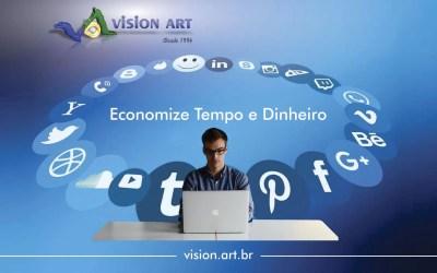 Criação de sites com marketing automatizado, layout exclusivo e responsivo.