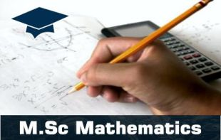 M.Sc Mathematices