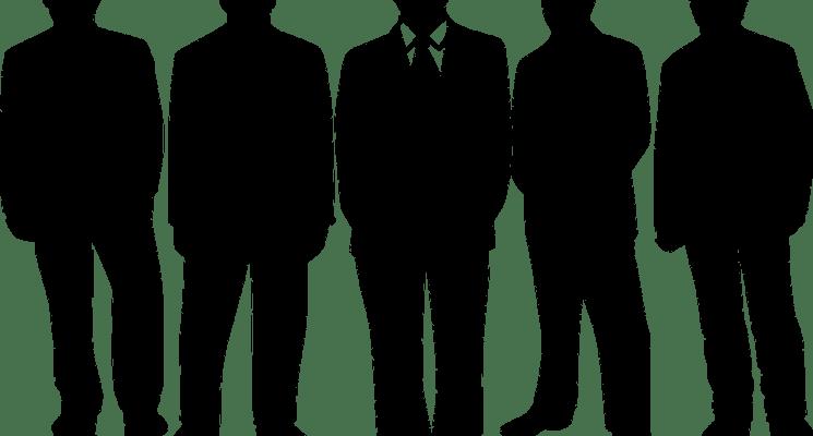 men's shadow