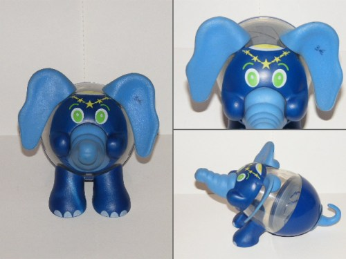 Photo d'une boite de Kinder Circus, en forme d'éléphant.