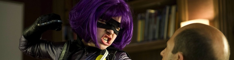 Hit Girl kick a ass