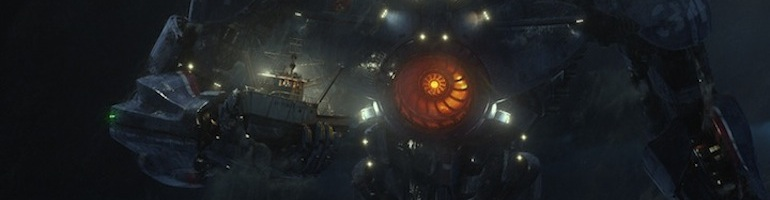 Pacific Rim - header - photo bateau et robot