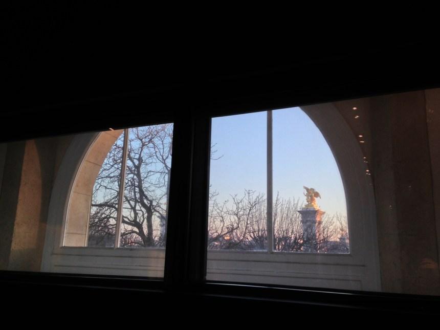 La seule salle de cinéma de Paris avec une telle vue.