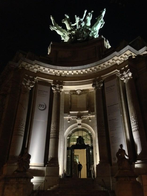 Photo de l'entrée Alexandre III du Grand Palais.