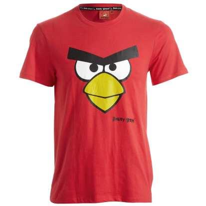Cet Angry Birds est un grand classique du t-shirt pour enfants, on doit pouvoir le trouver ailleurs. Ici en taille adulte !