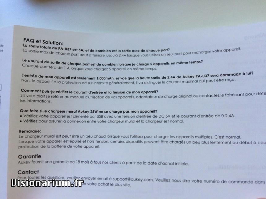 test chargeur Aukey sur Amazon : mode d'emploi