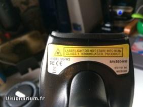 l'étiquette technique