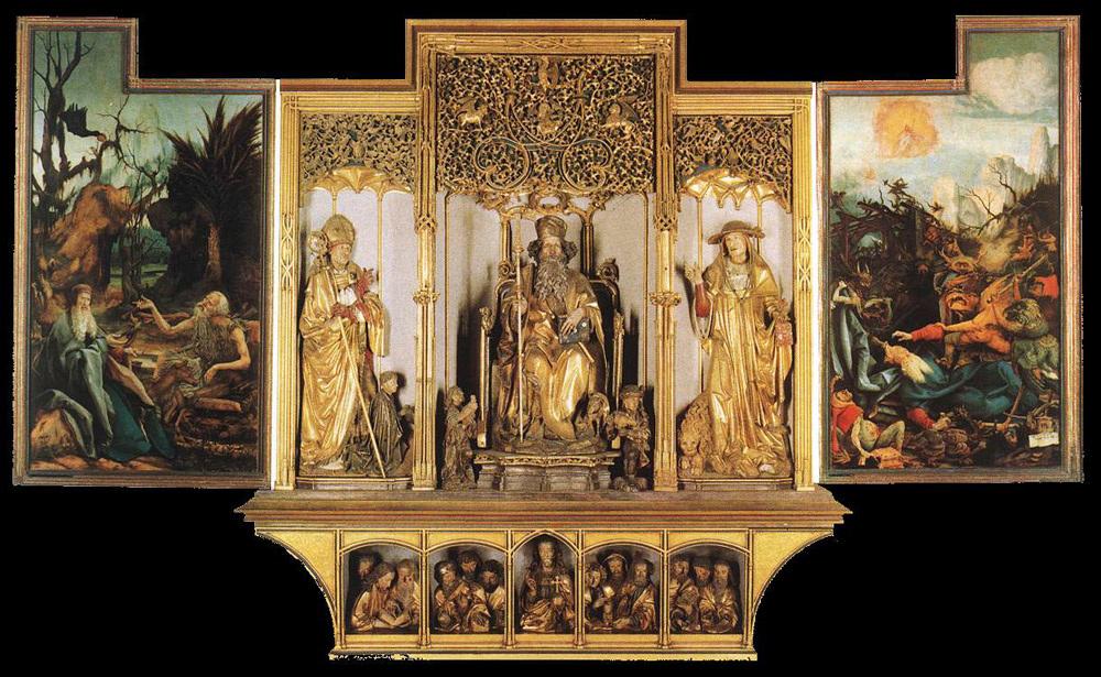 Isenheim altarpiece - Third view