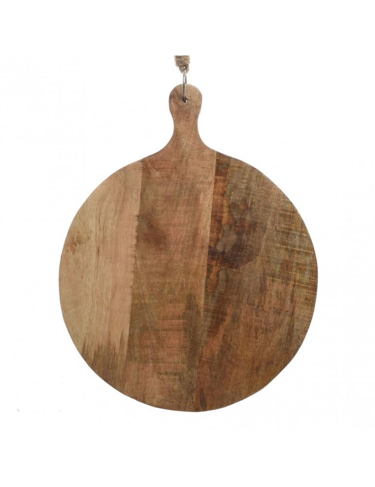 grande planche a decouper en bois de manguier