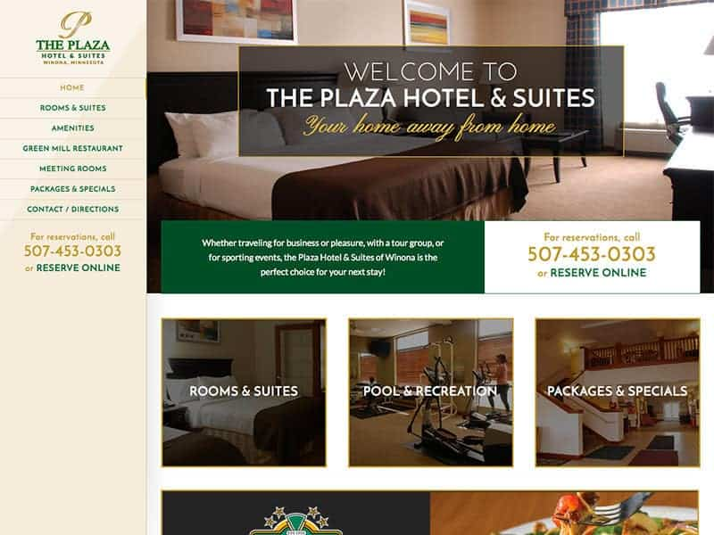 The Plaza Hotel Winona