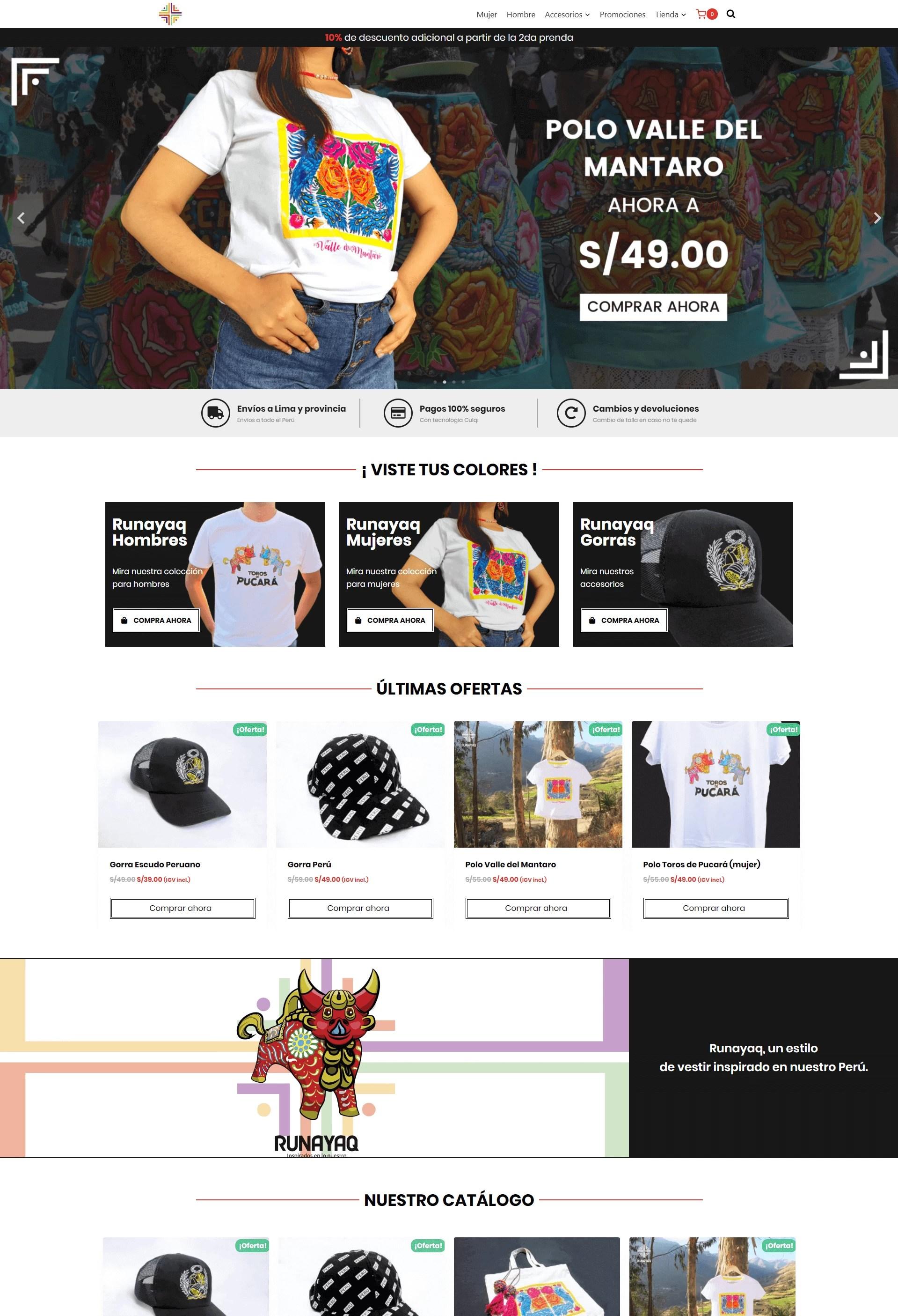 Página Web de Runayaq