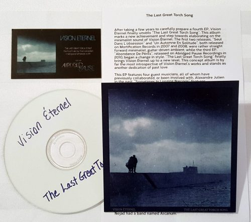 Vision Éternel The Last Great Torch Song Compact Disc