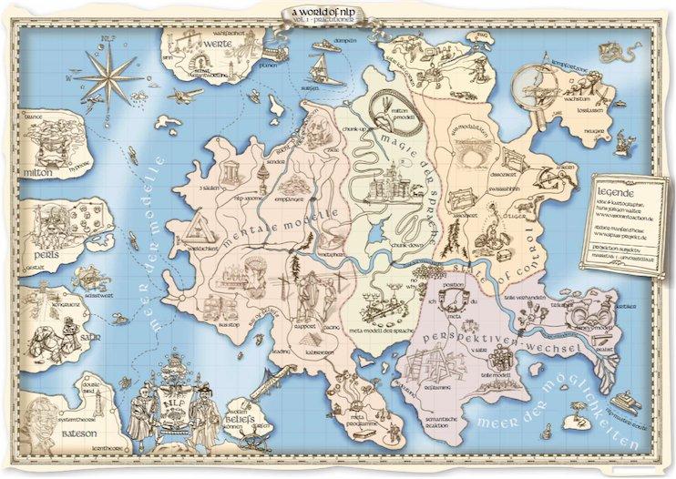A world of NLP - die neue NLP-Landkarte