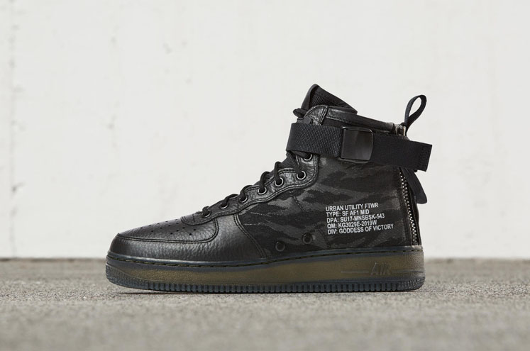 Nike Lanza las Nike Special Field Air Force 1 Mid