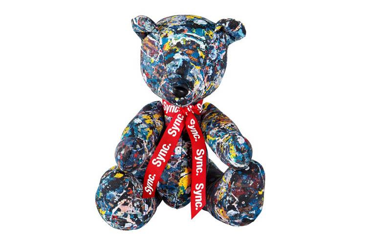 medicom-toy-sync-jackson-pollock-teddy-bear-1