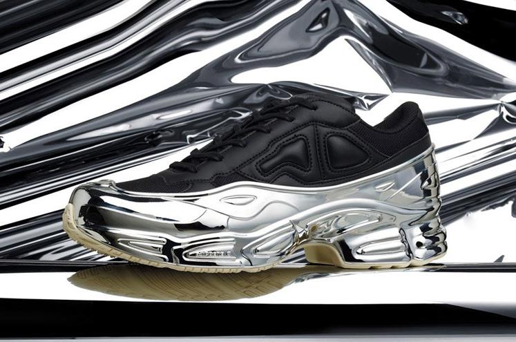 raf-simons-chrome-covered-ozweego-sneaker-adidas-designboom-1