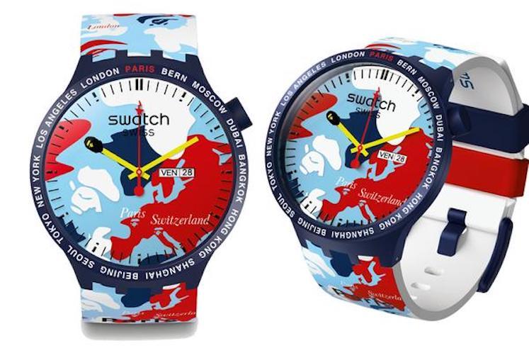 Swatch x BAPE – Big Bold 4