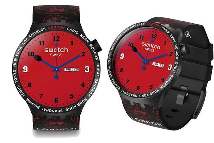 Swatch x BAPE – Big Bold 5