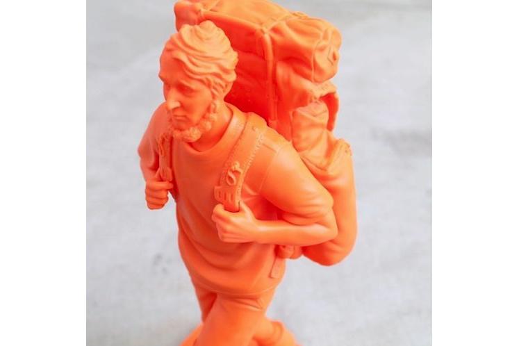 Mountain Research x Medicom Toy – Thoreau Sculpture 4