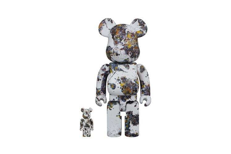 Medicom x Jackson Pollock Bearbrick 2