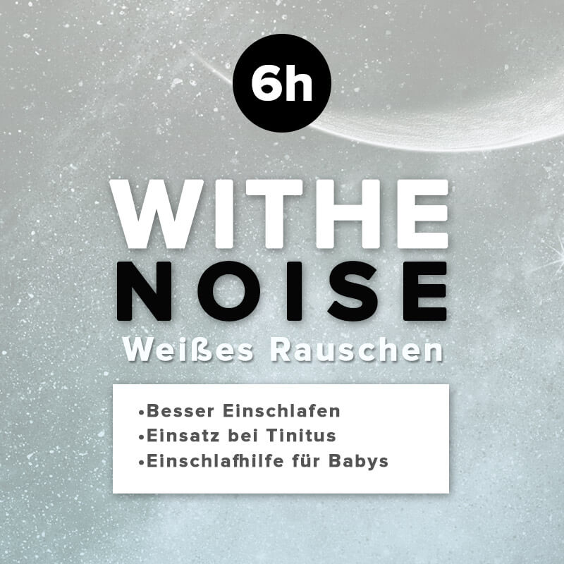 withe noise- weisses Rauschen - Einschlafhilfe für Babys