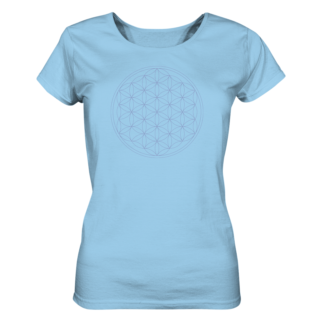 front ladies organic shirt 9fd0ed Flower of Life - Ladies Organic Shirt