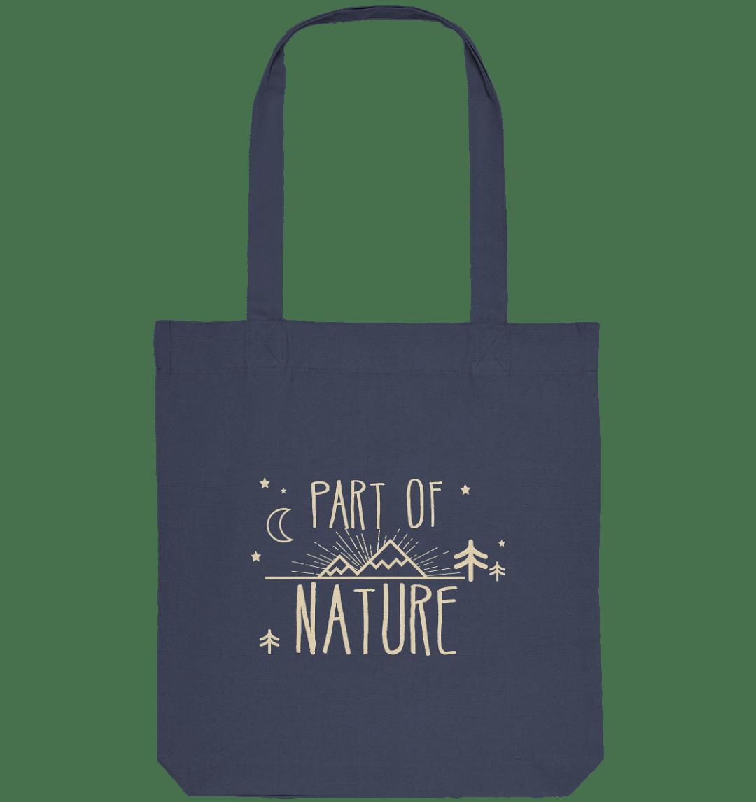 front organic tote bag 42475c Part of Nature - Organic Tote-Bag