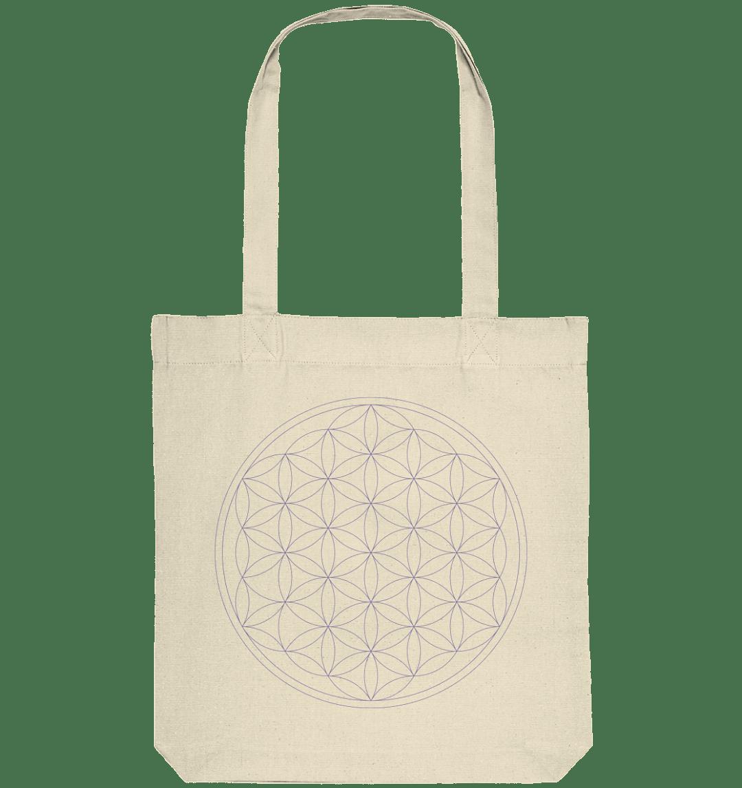 front organic tote bag f4ead0 Blume des Lebens - Organic Tote-Bag