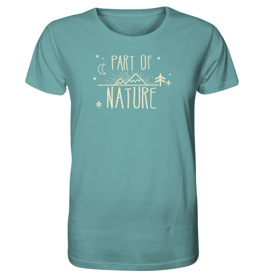 Part of Nature - Herren Shirt - Bio Cotton