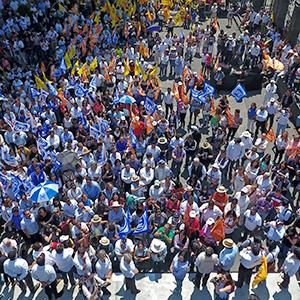 En sus marcas, listos, fuera… Candidatos inician campañas rumbo a Casa Puebla
