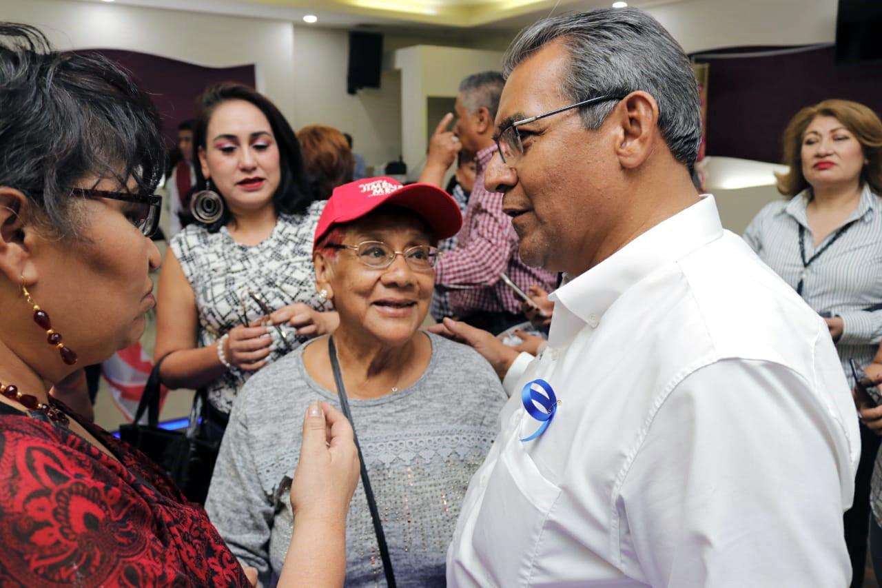 Combatir la inseguridad de manera integral ofrece Jiménez Merino al sur de la ciudad