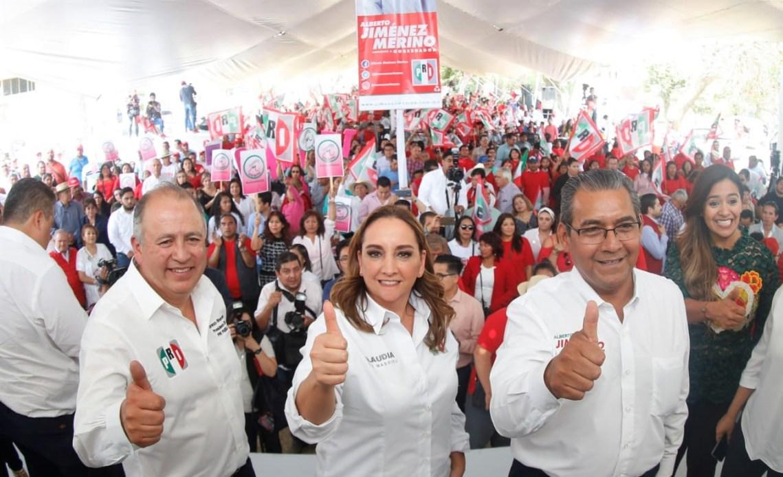 ALBERTO JIMÉNEZ MERINO ES EL GOBERNADOR QUE PUEBLA NECESITA, SOSTIENE CLAUDIA RUIZ MASSIEU