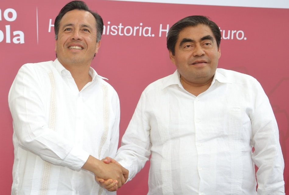 GOBERNADORES DE PUEBLA Y VERACRUZ PACTAN ACUERDO   PARA DISMINUIR DELITOS EN ZONA LIMÍTROFE
